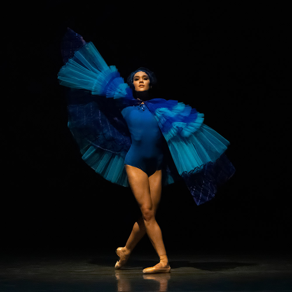 Mira Nadon in Sidra Bell's Suspended Animation.© Erin Baiano. (Click image for larger version)