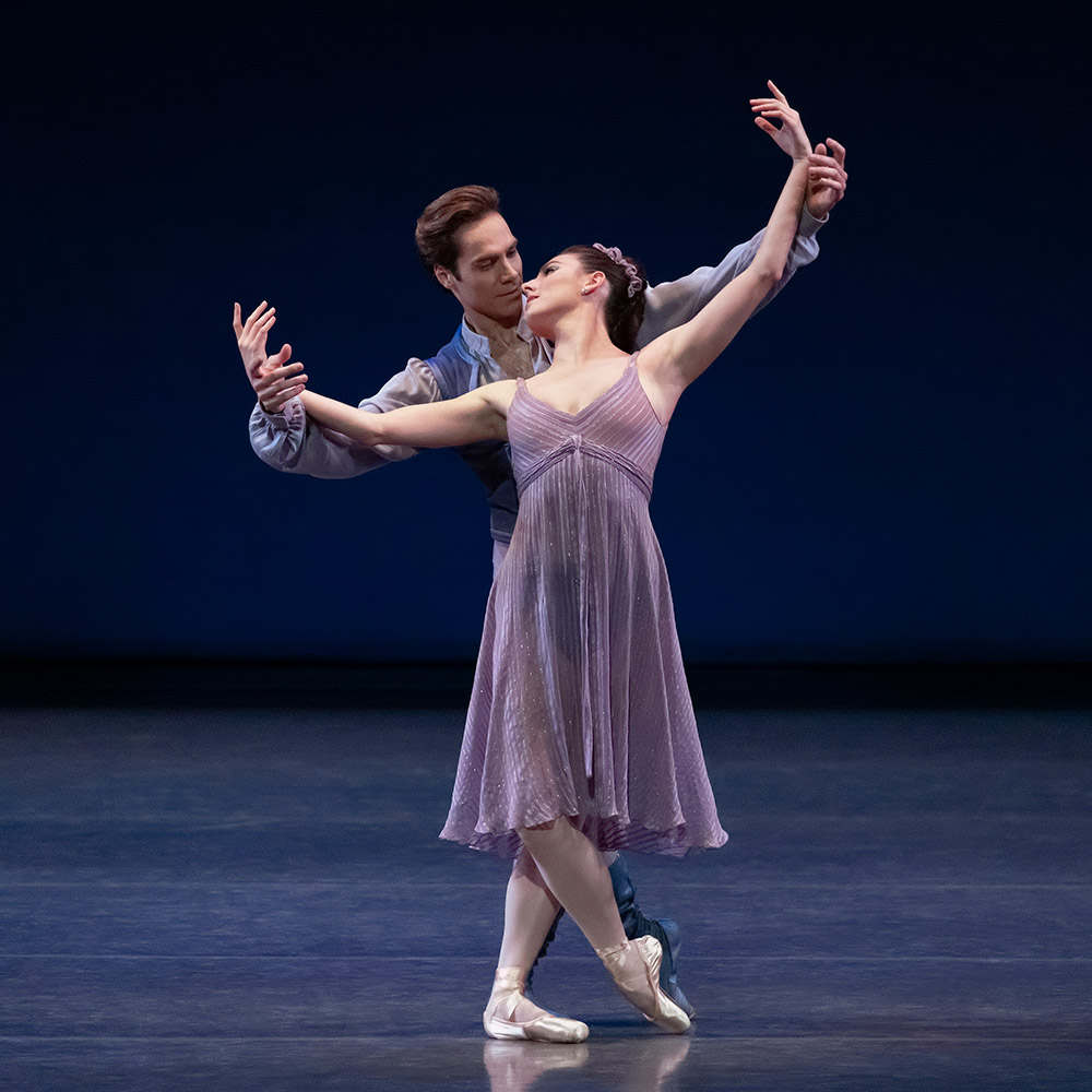 Tiler Peck and Gonzalo Garcia in Other Dances.© Erin Baiano. (Click image for larger version)