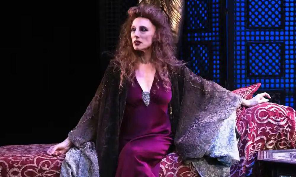 Naomi Sorkin in Ida Rubinstein: The Final Act.© Gareth McLeod. (Click image for larger version)