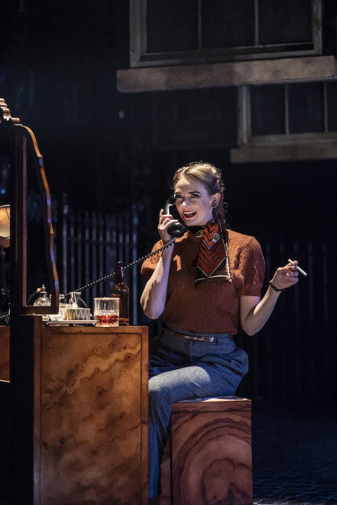 Daisy May Kemp in The Midnight Bell.© Johan Persson. (Click image for larger version)