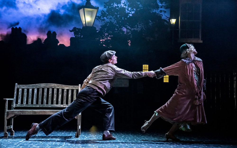 Paris Fitzpatrick and Bryony Wood in The Midnight Bell .© Johan Persson. (Click image for larger version)